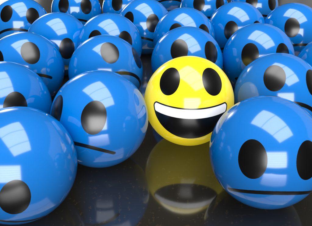 MYPP Smiley, Blue Monday